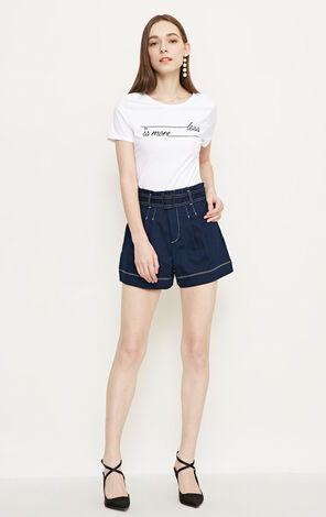 Vero Moda VeroModa High-rise Denim Shorts|318243515