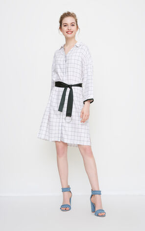 Vero Moda Women's Plaid Shirt Dress|318231533