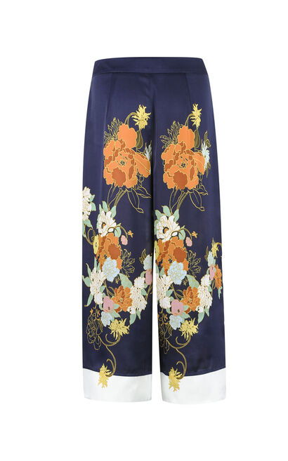 GUISELLE 7/8 STRAIGHT PANTS(VMC-NN), Blue, large