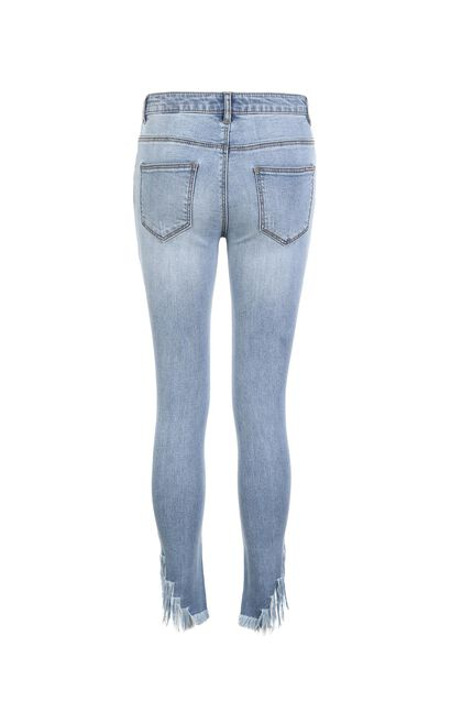 HUMOR 9/10 MW SLIM JEANS(NR), Light blue, large
