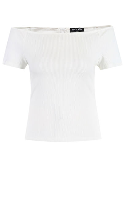 FELKA S/S TOP(NN), White, large