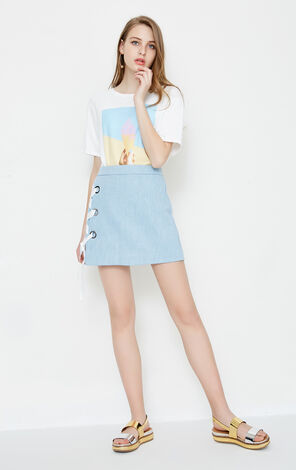 Vero Moda DAY HW DENIM SKIRT(SL)