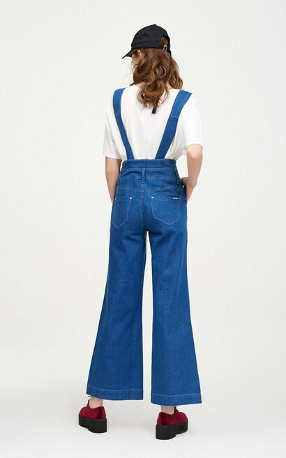 FIN HW DENIM CATSUIT(UR), Blue, large