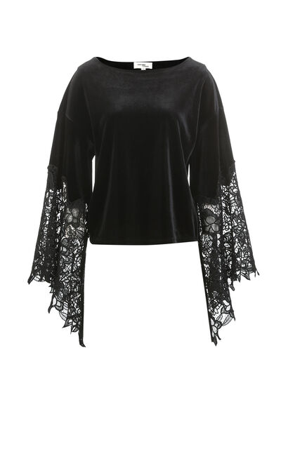 EVE L/S TOP(VMC-PF), Black, large