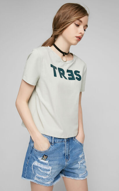 MIA S/S TOP(TP), Grey, large