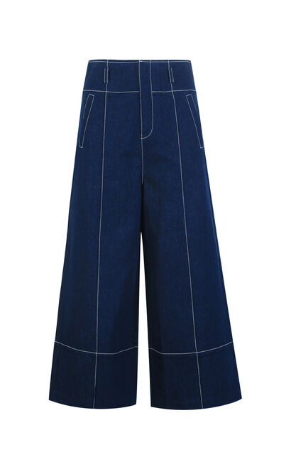 PRIORITY 9/10 HW LOOSE JEANS(SL), Blue, large