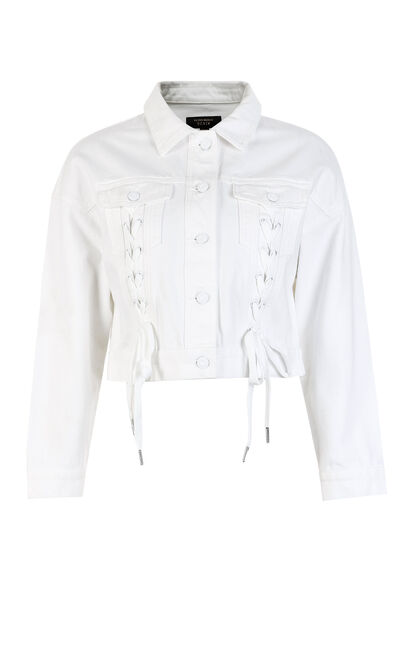 RING DENIM JKT(NC), White, large
