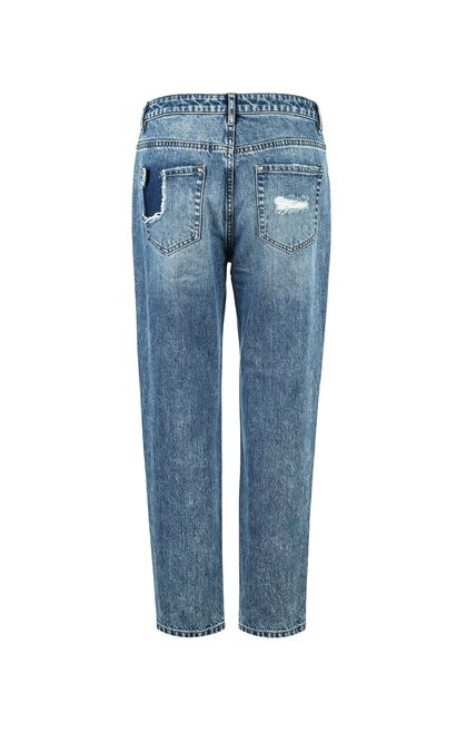 FRANK 9/10 MW GIRLFRIEND JEANS(NC), Blue, large
