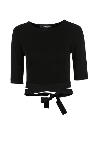 RORY 1/2 TOP(NN), Black, large