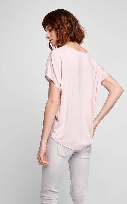 Vero Moda Printed Loose T-Shirt|317201518, Pink, large