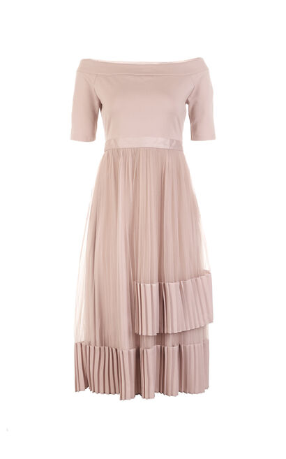 COLL 1/2 DRESS(VMC-FL), Pink, large