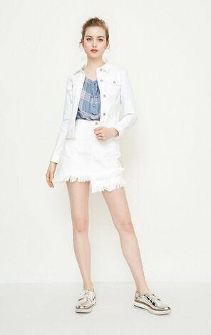 Vero Moda GOOSE HW DENIM SKIRT(NN)