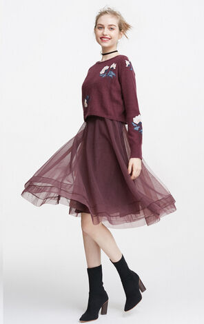 NATIVE L/S DRESS SET(NR)