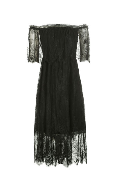 SHERRY 1/2 DRESS(VMC-BJ), Black, large