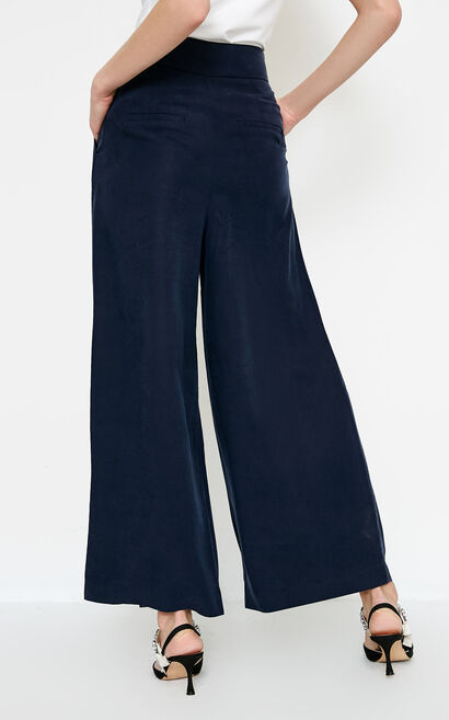 NARCISSUS 9/10 WIDE PANTS(NN), Blue, large