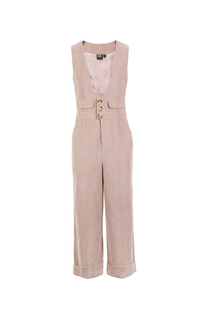 BEGONIA 7/8 STRAIGHT CATSUIT(UW), Pink, large