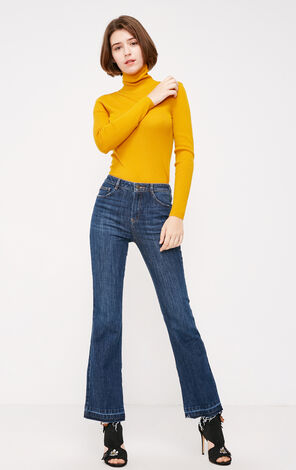 ACADEMIC MW SLIM BOOTCUT JEANS(DR)