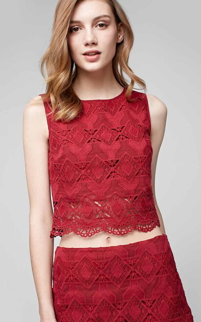 SUN S/L TOP(VMC-RN)-OR, Red, large