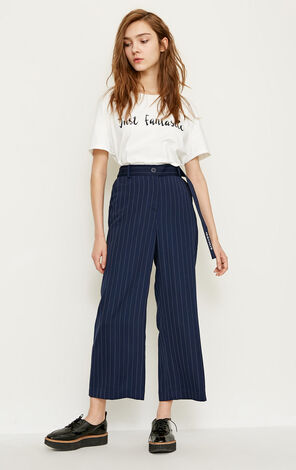 VICKY 9/10 LOOSE PANTS(SL)